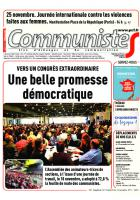 Journal CommunisteS n°702 22 novembre 2017