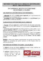 Rentrée scolaire dans l'Hérault : bilan très insuffisant