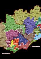 Cartes des Circonscriptions électorales de l'Hérault