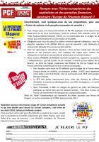 Tract - Rompre avec l'Union européenne des capitalistes et des parasites financiers, construire l'Europe de l'Humain d'abord!!