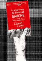 Le programme du Front de gauche - L'humain d'abord - sur votre mobile ou votre liseuse (ePub)