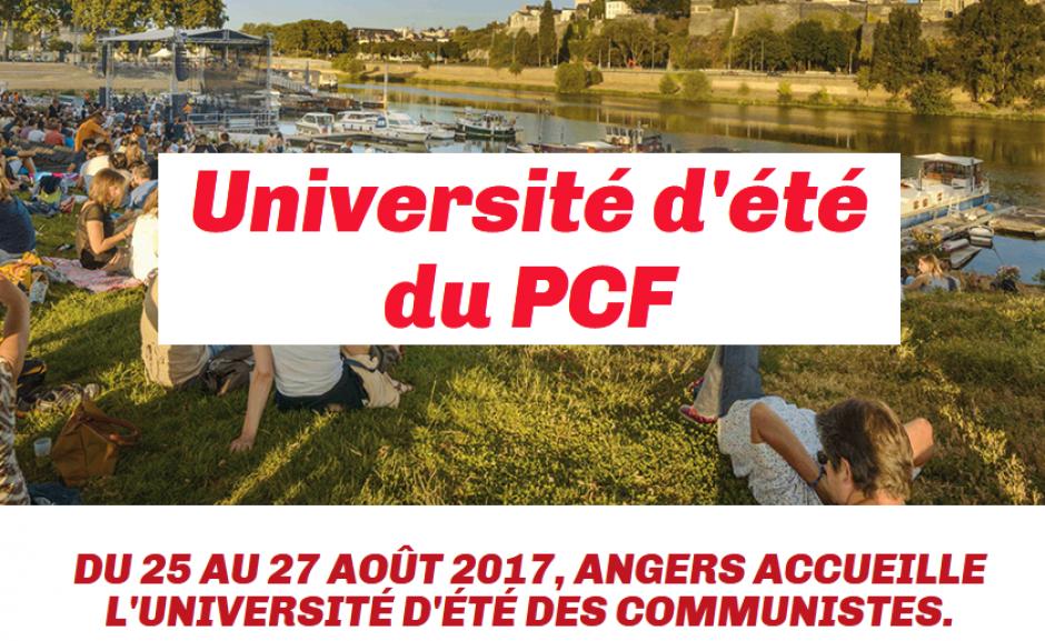 Université d'été du PCF - Angers