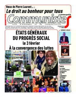 Journal CommunisteS n°708 17 janvier 2018